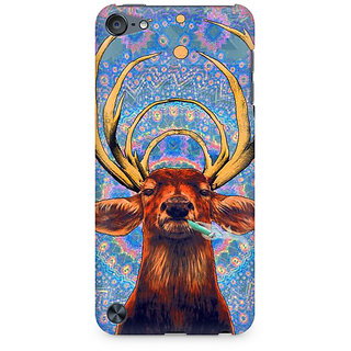 Zenith Smoking Deer Premium Printed Mobile cover For Apple iPod Touch 6