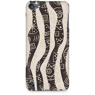 Zenith Abstract Tribal Wave Premium Printed Mobile cover For Apple iPod Touch 5