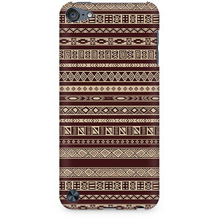 Zenith Brown Ribbon Premium Printed Mobile cover For Apple iPod Touch 5