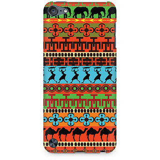 Zenith Colorful Village Premium Printed Mobile cover For Apple iPod Touch 5