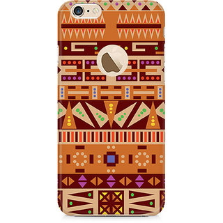Zenith Tribal Pizza Premium Printed Mobile cover For Apple iPhone 6/6s with hole