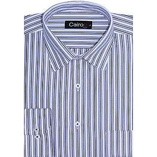 Cairon Sharp Blue Stripe Executive Formal Shirt