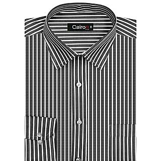 Cairon Slick Black Stripe Executive Formal Shirt