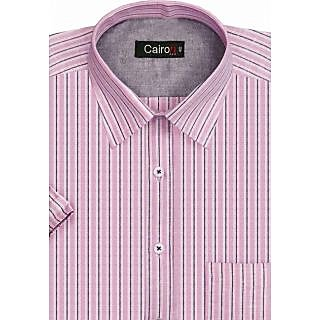 Cairon New Pink Stripe Executive Formal Shirt