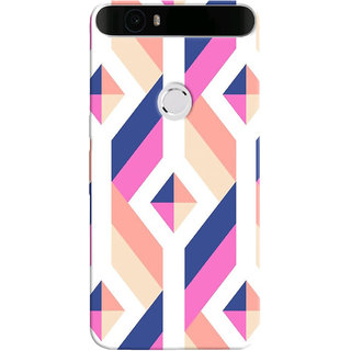 Stubborne Google Nexus 6P Cover / Google Nexus 6P Covers Back Cover Designer Printed Hard Plastic Case