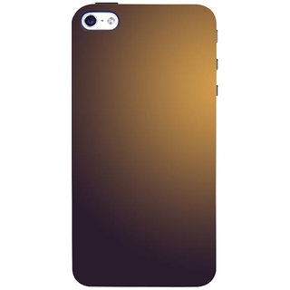 Stubborne Plain Multicolor Texture 3D Printed Apple Iphone 4 Back Cover / Case