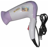 Brite 1000W Electric Hair Dryer Foldable