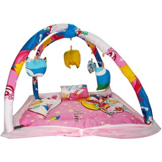 Baby Sleeping Bed Cum Play Gym Cartoon
