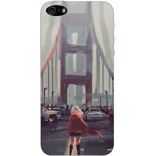 Stubborne Apple Iphone 5 S Cover / Apple Iphone 5 S Covers Back Cover Designer Printed Hard Plastic Case