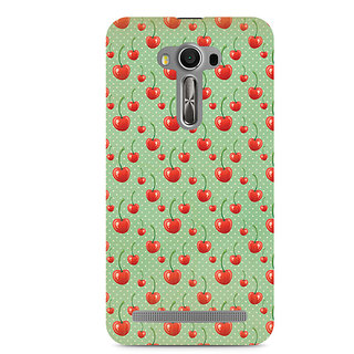 CopyCatz Cherry Overdose Green Premium Printed Case For Asus Zenfone 2 Laser ZE500