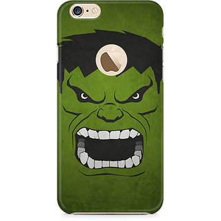 CopyCatz Hulk Minimalist Premium Printed Case For Apple IPhone 6/6s With Hole