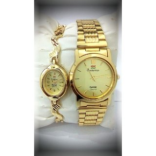 buy hmt gold plated couples buy buy hmt gold plated