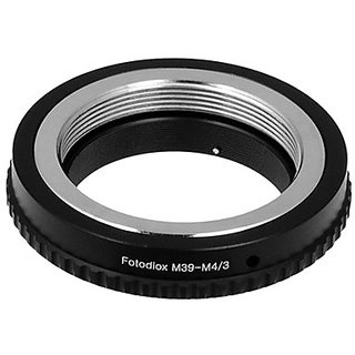 Fotodiox 10La -M39 -M43S Lens Mount Adapter - Leica M39 (39Mm X 1 Thread Screw Mount) Lens To Mft Micro 4/3 Cameras For Olympus