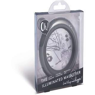 Oh! The Illuminated Magnifier - Vivid Grey