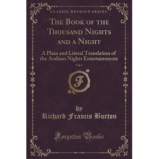 The Book Of The Thousand Nights And A Night, Vol. 1