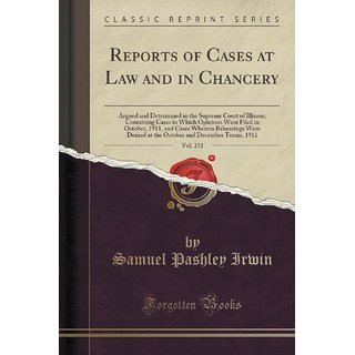 Reports Of Cases At Law And In Chancery, Vol. 251