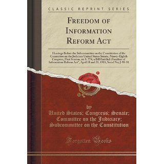 Freedom Of Information Reform Act