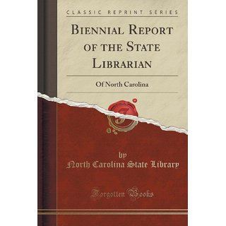 Biennial Report Of The State Librarian