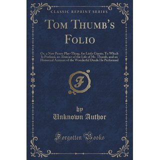Tom Thumb'S Folio