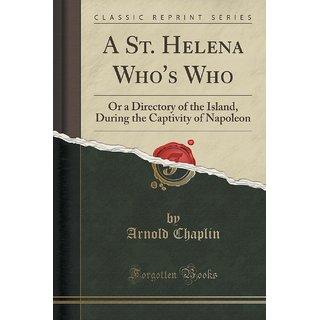 A St. Helena Who'S Who