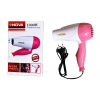 Nova N-1290 Foldable Hair Dryer 1000W