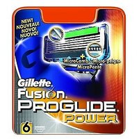 Gillette Fusion Proglide Power 6 Cartridges Pack