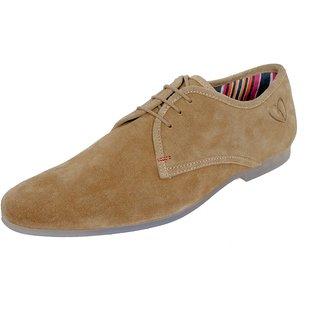 Delize Classic Men's Tan Casual Shoes