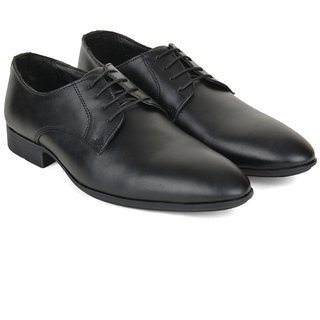 Ziraffe BOGOTA Black Leather Formal Shoes