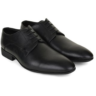 Ziraffe HOBART Black Leather Formal Shoes