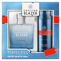 English Blazer Premium Men Timeless Fragrance Perfume & Deo Gift Set