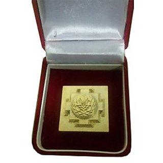 Meru Shri Shree Yantra Gold plated with Accurate Cutting - Vastu Product