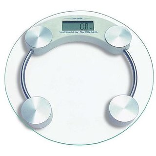 Digital Weighing Scale Personal Bathtoom weight Machine Glass Made Health Gift available at ShopClues for Rs.748