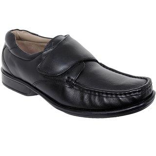 Delize Mens Black Formal Shoes