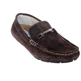 Delize Men's Brown Loafer Shoes