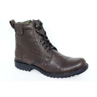 Delize Stylish Mens Olive Boots