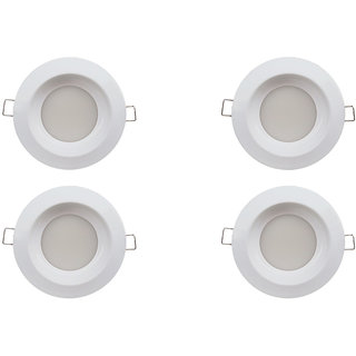 Bene LED 6w Leggero Round Ceiling Light Color of LED White (Pack of 4 Pcs)