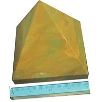 Yellow Jasper Pyramid Size 4 Inches