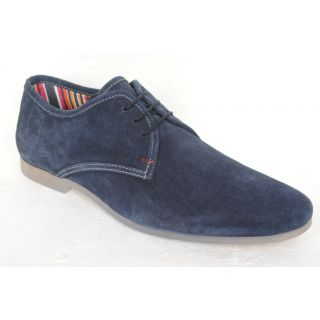 Delize Men's Blue Casual Shoes