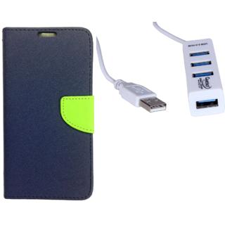 Samsung Galaxy A7 (2016)  Credit Card Slots Mercury Diary Wallet Flip Cover Case