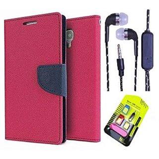 Moto E 2   Credit Card Slots Mercury Diary Wallet Flip Cover Case