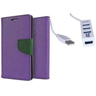 Micromax Bolt D320  Credit Card Slots Mercury Diary Wallet Flip Cover Case
