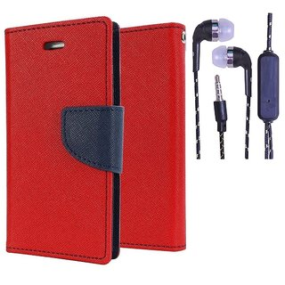 Samsung Galaxy Core Prime (SM-G360)  Credit Card Slots Mercury Diary Wallet Flip Cover Case
