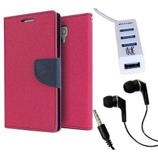 Meizu M2  Credit Card Slots Mercury Diary Wallet Flip Cover Case