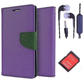 Microsoft Lumia 540  Credit Card Slots Mercury Diary Wallet Flip Cover Case