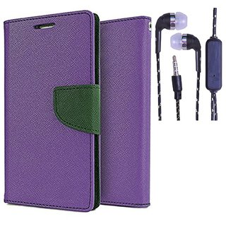 Micromax Canvas Nitro A310  NEW FANCY DIARY FLIP CASE BACK COVER