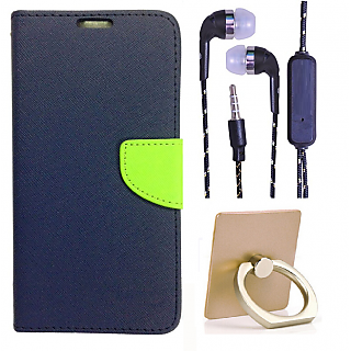 Lenovo A2010  Credit Card Slots Mercury Diary Wallet Flip Cover Case