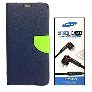 Samsung Galaxy C7  Credit Card Slots Mercury Diary Wallet Flip Cover Case