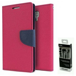 Micromax Canvas DOODLE A111  NEW FANCY DIARY FLIP CASE BACK COVER