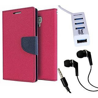 Micromax A102 Canvas Doodle 3  Credit Card Slots Mercury Diary Wallet Flip Cover Case
