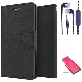 Micromax Canvas Fire A093  Credit Card Slots Mercury Diary Wallet Flip Cover Case